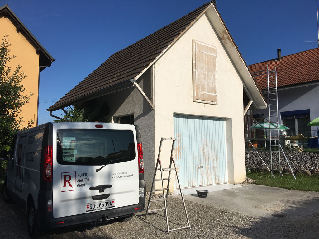 Fassaden und Risssanierungen