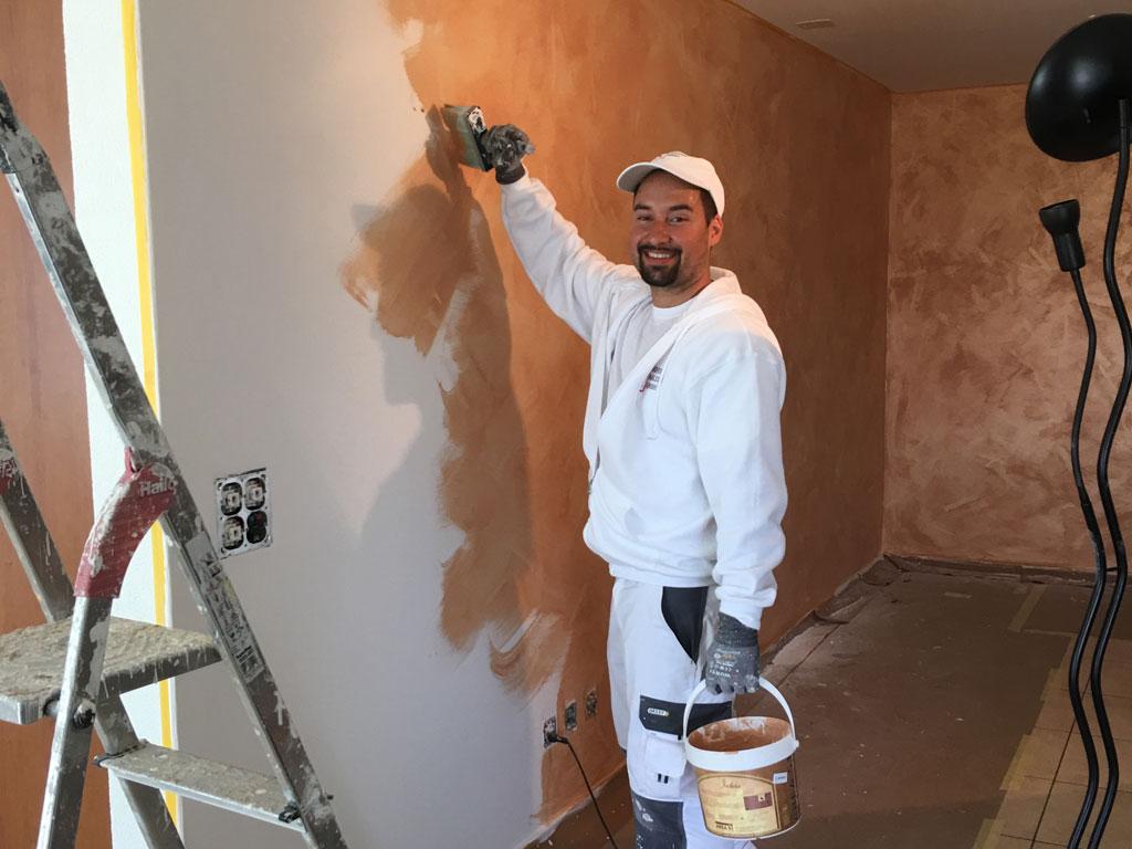 Malerarbeiten innen